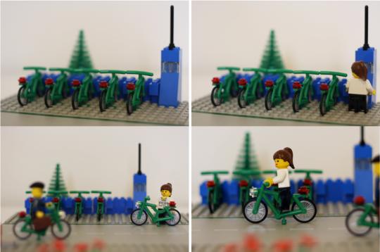 Lego Bike Share