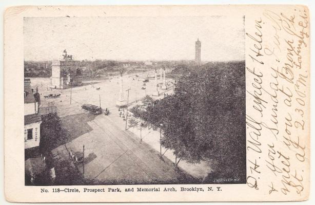 Prospect Par Memorial Arch