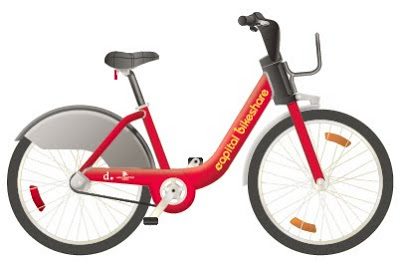 Capital Bikeshare bike