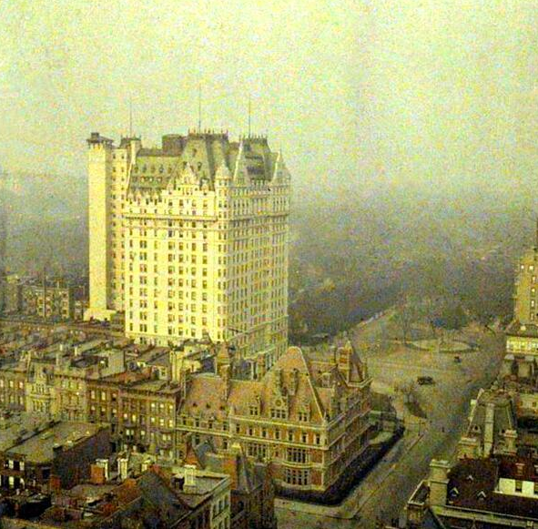 Plaza Hotel, early 20th Century. Image via Michael Beschloss.